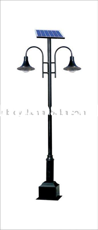 Outdoor Solar Light Post