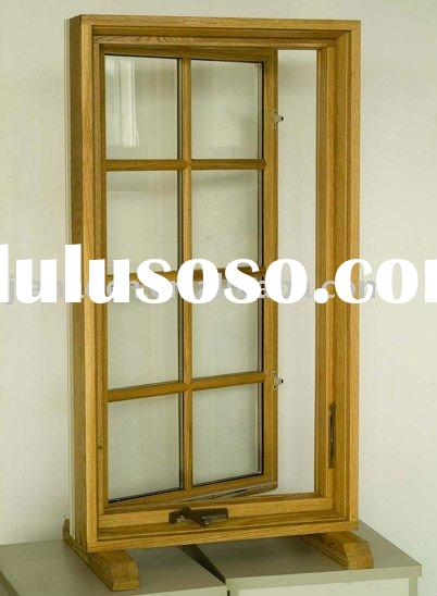Solid Wood Window with Aluminum Cladding IV75