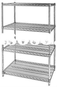 Stainless Steel Industrail Wire shelf and Metal Rack