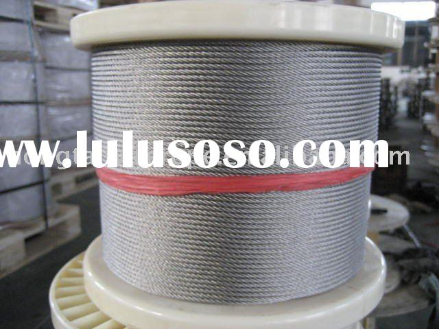 Stainless Steel Wire Rope for Lifting and Rigging 6 x 36SW + IWRC/FC