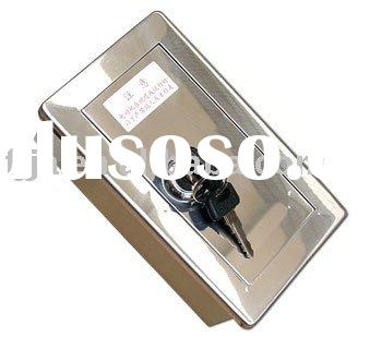 Stainless manual Key switch ( lock box )
