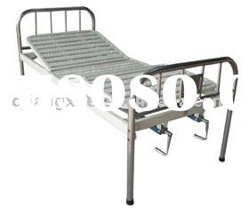 Stainless steel double-rocker bed(medical bed,hospital bed, hospital furniture)