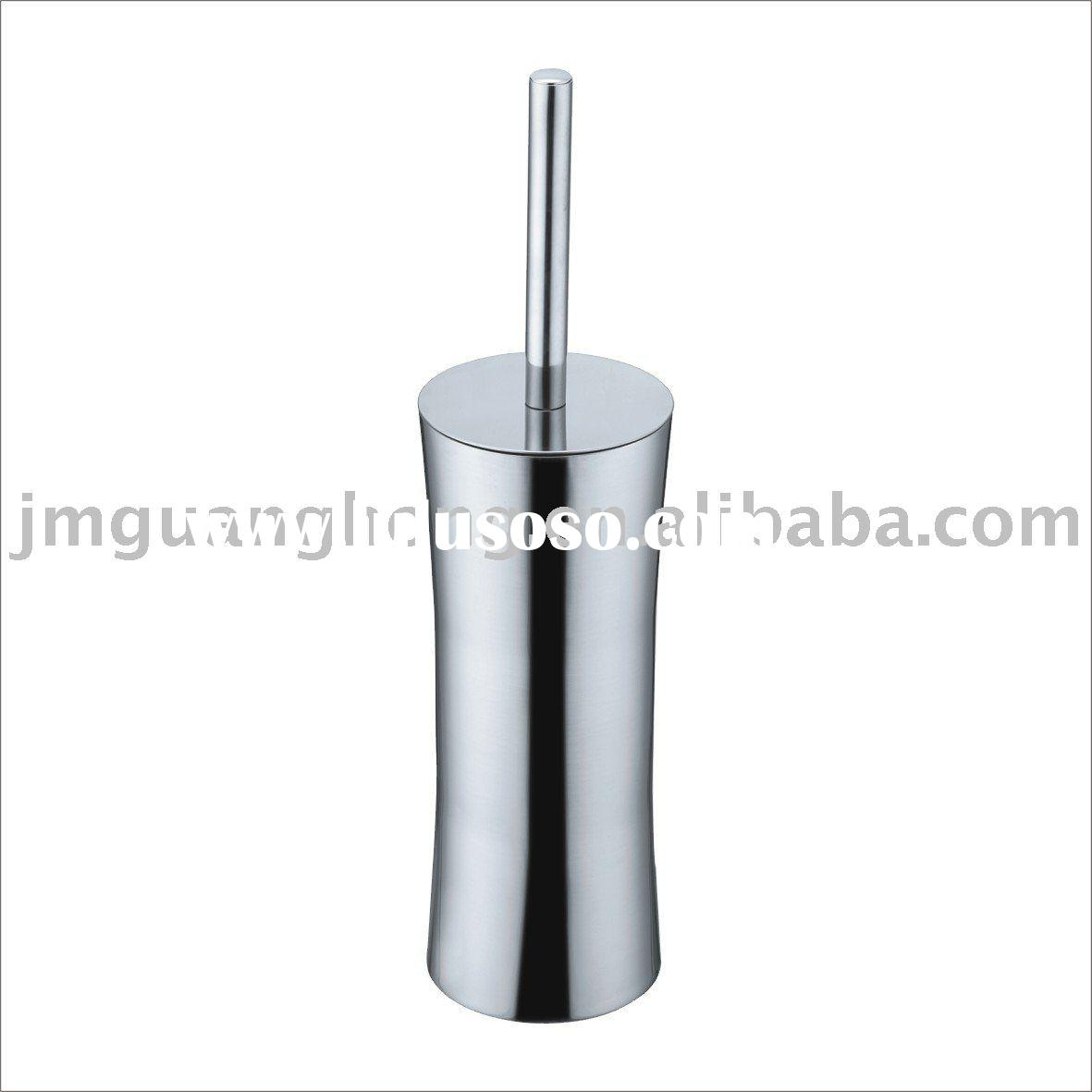 Stainless steel toilet brush set&holder