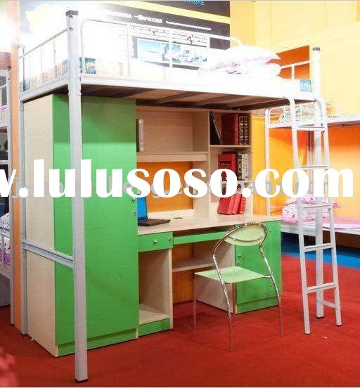 Study Loft Bed with Computer Desk