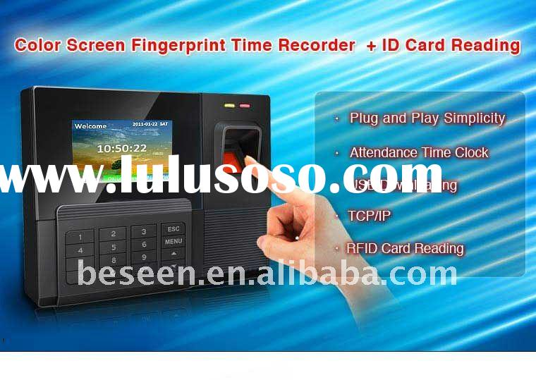 TCP/IP Fingerprint Time Attendance with RFID Reader