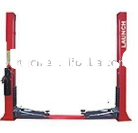 TLT235SB Floor Plate Two Post Lift- Manual lock release mechanism on both sides