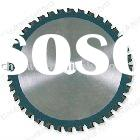 T.C.T circular saw blade for cutting Ferrous Metal