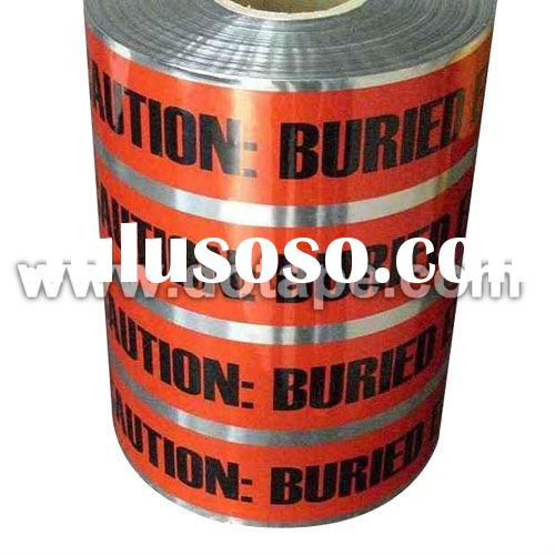 Underground Detectable Warning Tape, Detectable Aluminium Foil Tape, Detectable Tape, Detection Tape