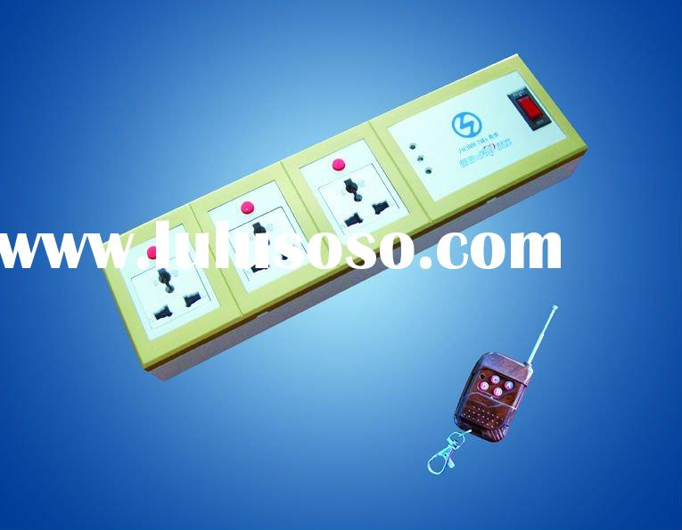 Universal Wall Socket with Remote Control