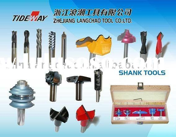 Various Router bits