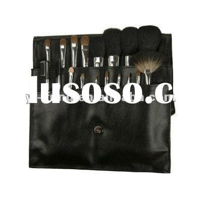 Vonira Beauty Professional Artist 18 Piece Makeup Brush Set with Shoulder Bag