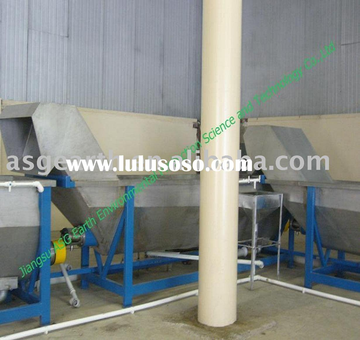 Waste Bottle Plastic Recycling Machine