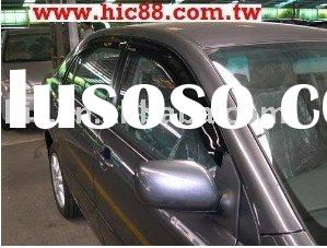 Wind Deflectors, Auto accessories,weather shields, Window Visors for Toyota Corolla(01~06)