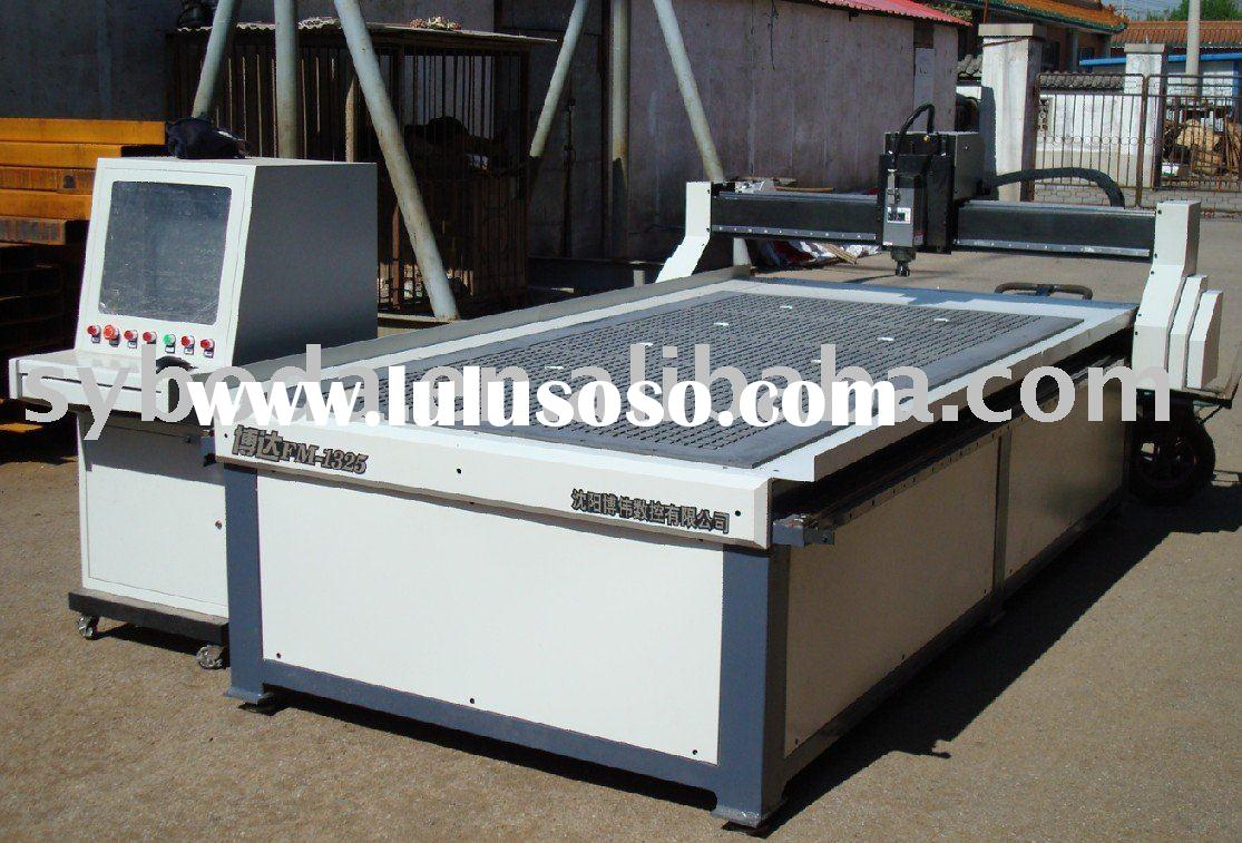 Wood CNC router machine with AIR-COOLING SPINDLE