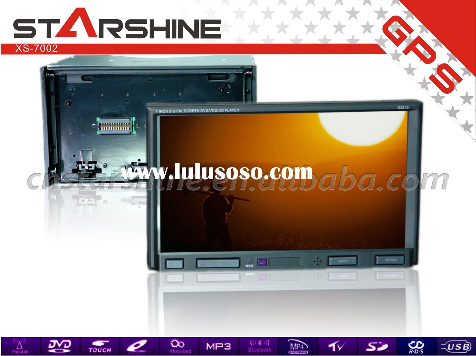 XS-7002: 7 inch 2 din Touch screen car dvd player