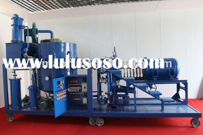 ZYD waste used black car/motor engine oil recycling and oil recovery system