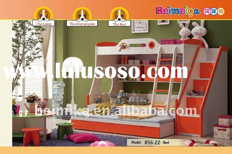 (Best Seller) High Quality and Ecomomic Children's Bunk Bed for Boy/Girl 856A