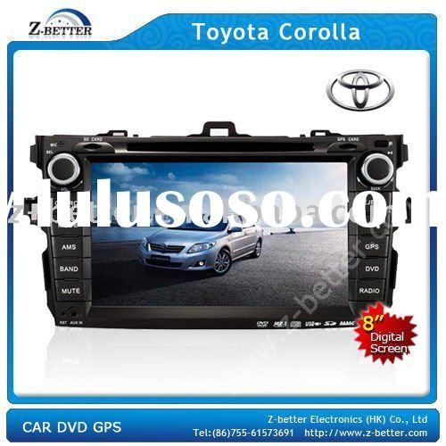 (Best price) 8 in Car DVD GPS for Toyota Corolla with DVD,GPS,Bluetooth,Radio,TV