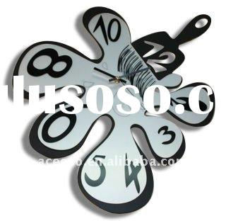 (CK051) fancy design modern metal wall clock