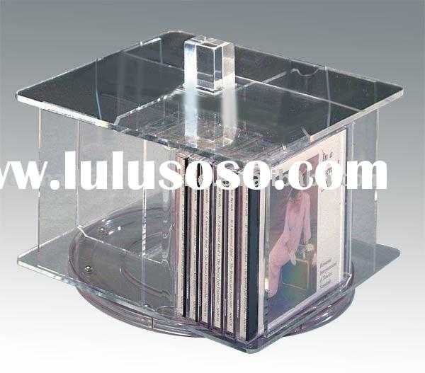 acrylic CD rack,Cassette Storage Display Rack