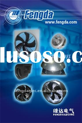 axial fan, centrifugal fan, cooling fan and water mist fan with external rotor motor, industrial fan