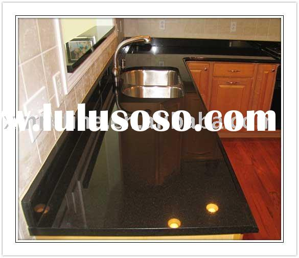 black granite countertop,shanxi black countertops,black galaxy counter top,absolute black countertop