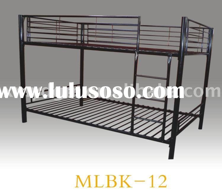 black metal bunk bed frame(MLBK-12)