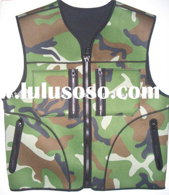 camouflage hunting vest & hunting gear & hunting outdoor wear