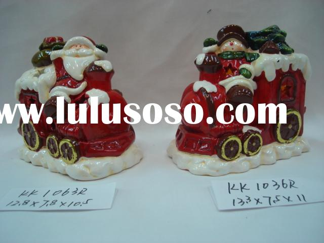 ceramic christmas trees,christmas train,xmas reindeer,christmas ornament