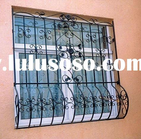 decoration wrought iron window grill iron window guard window railings