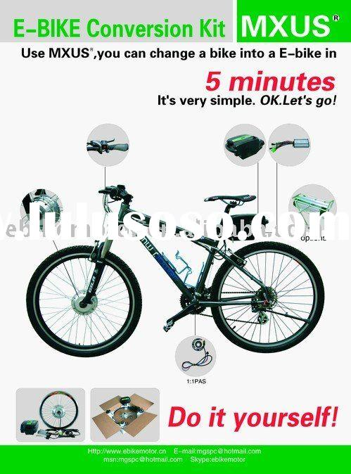 e bike conversion kit, DIY electric bicycle kit, Ebike hub motor