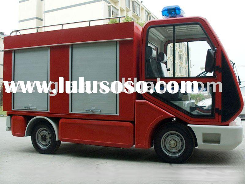 electric fire engine EG6020F(48V/5KW), mini electric fire truck, fire-fighting car