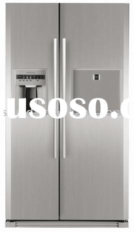 frost free side by side refrigerator, fridge, freezer, refrigeratory