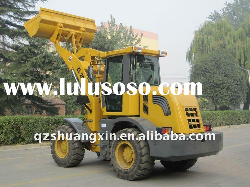 hot sale ZL20 bucket loader and truck loader ce mark