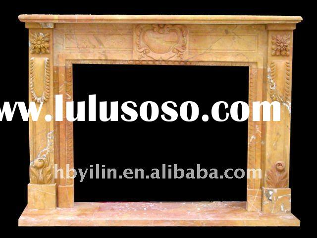 irish marble stone fireplace