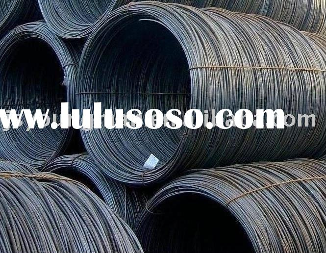 low and high carbon steel wire rods coils