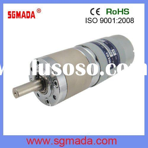 low speed high torque 12V dc gear motor