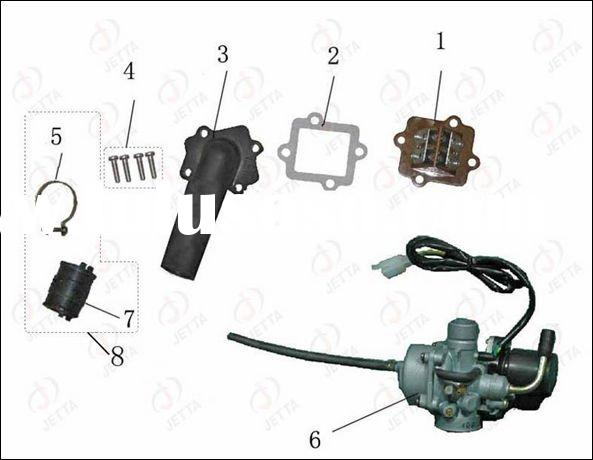 motorcycle engine parts(1PE40QMB) / 50cc engine carburetor / engine parts