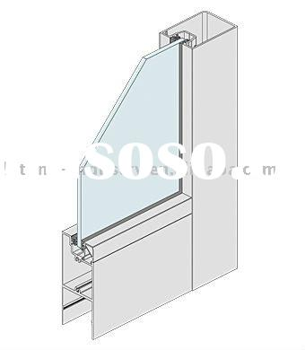 new design aluminium window frame