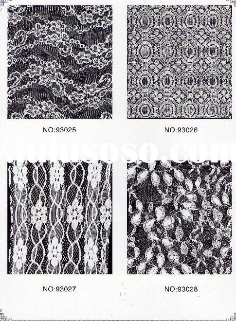 no elastic lace fabric