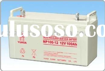 original YUASA 12V100AH sealed lead acid battery