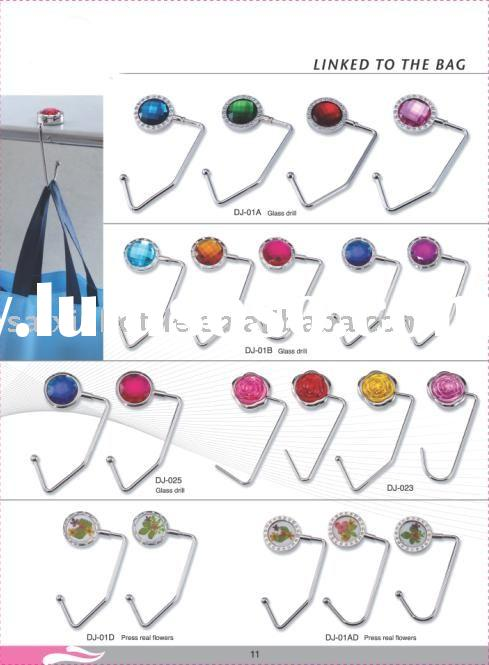 purse hook , handbag hangers , bag holde r, key finder