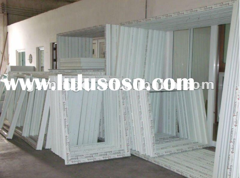 pvc windows model in house manufacturer