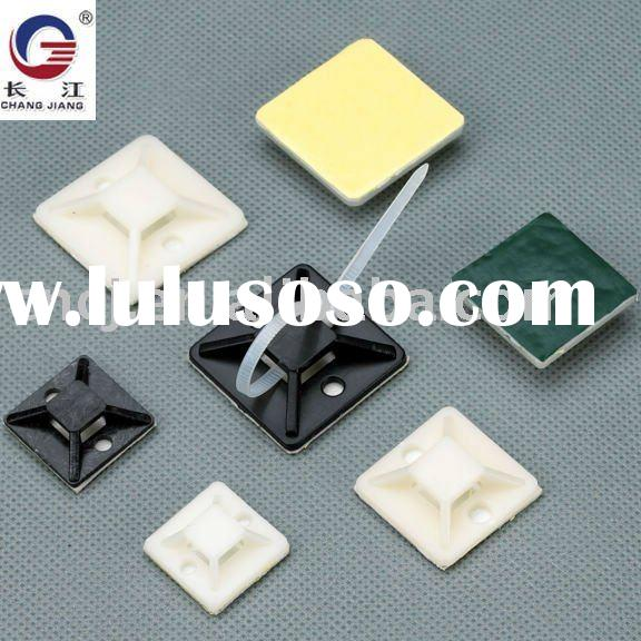 self adhesive cable tie mount