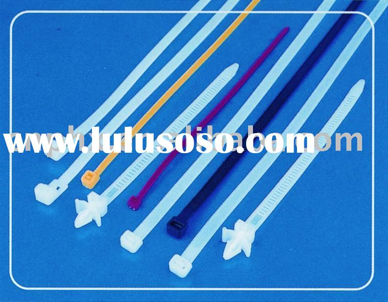 self-locking nylon cable ties(cable tie assortment,cable tie mounts,double locking cable ties,marker