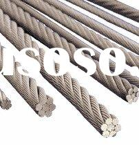 stainless steel baluster wire rope