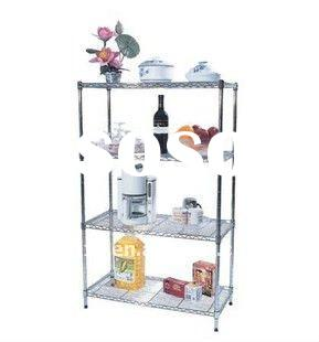 stainless steel rack pipe shelving