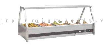 stainless steel salad bar YG005 / kitchen equipment