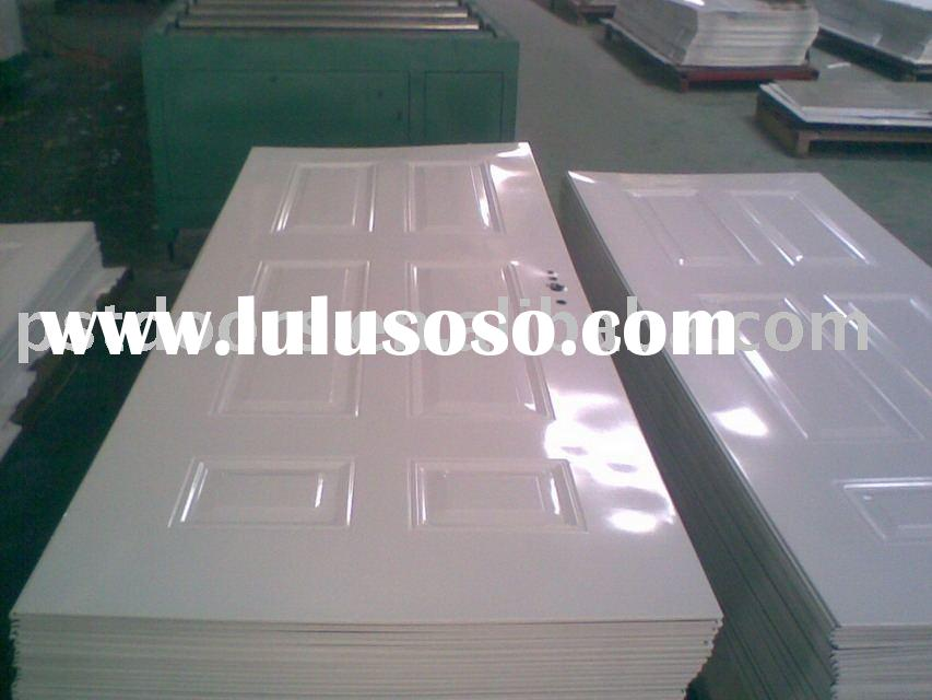 stamped steel door skin,steel panel door skin/galvanized steel door skin