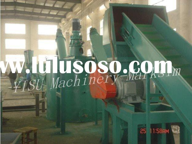 waste plastic recycling line/plastic bottle recycling machine/plastic film recycling machine